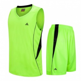 Basketball-Sports-Jerseys-Shorts-Set-Men-Training-Suit-Team-Game-Boy-Breathable-Quick-Dry-Custom-Uniform-Clothing-BlackXL