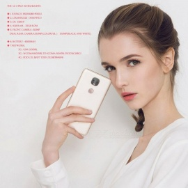 Letv Leeco Le Pro 3 X651 Dual AI Camera Mobile Phone, Android 6.0 4G FDD-LTE Helio X23 Ten-Core 5.5Inch 4GB RAM 32GB ROM rose gold