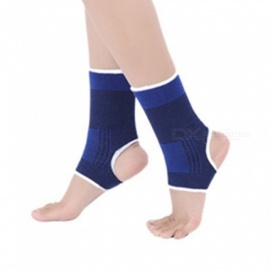 1Pcs Ankle Support Knitted Warm High Protect Sports Equipment Safety Running Basketball Ankle Brace Support Blue
