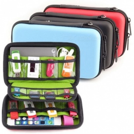 Portable-Waterproof-Large-Capacity-Cable-Organizer-Bag-Durable-Five-layer-Digital-Storage-Bag-For-Travelling-Black