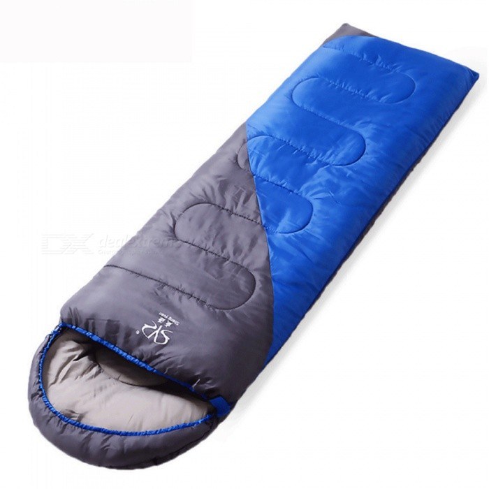 ZHAOYAO Outdoor Camping Adult Sleeping Bag, Waterproof Warm Sleeping Bag for Three Seasons