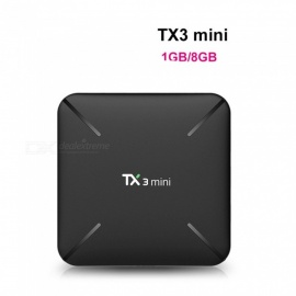 TX3 mini L Android TV BOX 1GB 8GB Android 7.1 Smart TV Box Amlogic S905W 2.4GHz Wifi 4K HD Set Top Box