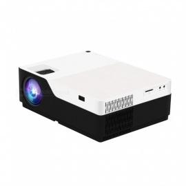 JEDX M18 LCD FHD Home Theater Projector - BLACK JAPAN plug