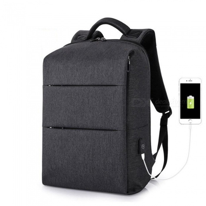 Buy ESAMACT D156 Backpack School Bag, USB Charging Men's Backpack for Laptop 15.6 Inch Notebook Computer with Litecoins with Free Shipping on Gipsybee.com