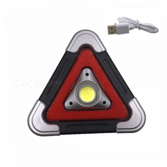Buy ZHAOYAO Solar Powered Triangle Outdoor Waterproof 5-Mode COB LED Working Lamp with Litecoins with Free Shipping on Gipsybee.com
