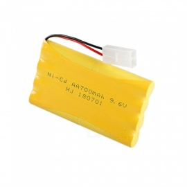 1 PCS 9.6V 700mAh Ni-CD AA Rechargeable Battery Pack KET-2P Plug 8*1.2V AA Batteries for RC Car Boat Toy