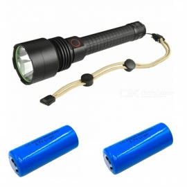 ZHAOYAO HX P50 LED 2 Model Outdoor Waterproof 9000LM Tactical Flashlight (with 2Pcs Blue LC 26650 Lithium Battery)