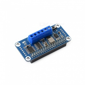 Waveshare Motor Driver HAT for Raspberry Pi, I2C Interface For Raspberry Pi Zero/Zero W/Zero WH/2B/3B/3B+(no pi)