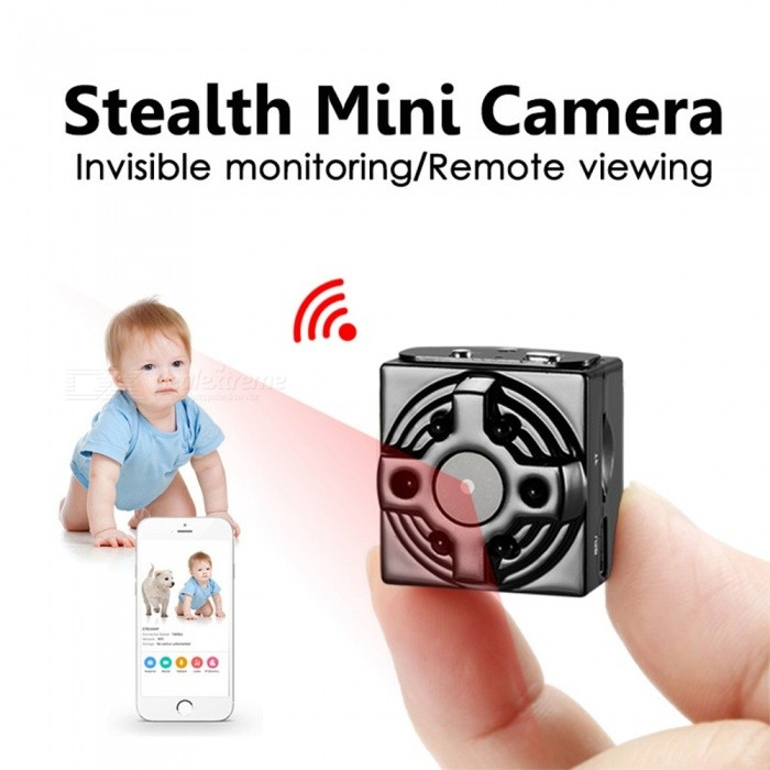 A16 1080P HD Wi-Fi Mini Camera with Motion Sensor, Night Vision