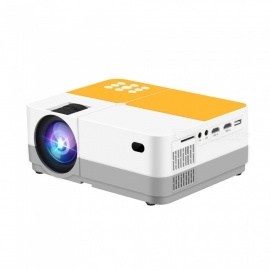 JEDX H3 LCD 2400 Lumens Video Projector - WHITE AU PLUG