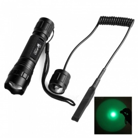 501G Portable Green Light 650LM Hunting Tactical LED Flashlight