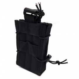 Outdoor Multifunctional M4 Cartridge Camouflage Bag, Interphone Bag