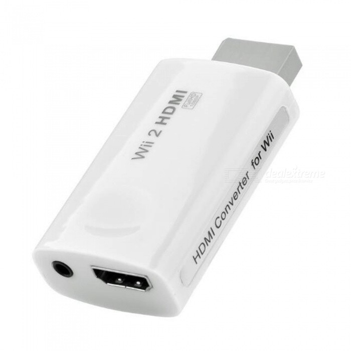WII to HDMI Converter with 3.5mm Audio Output
