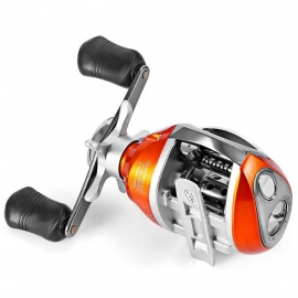 ZHAOYAO YUMOSHI 12+1BB Left / Right Hand Baitcasting Reel 6.3:1 Bait Casting Fishing Reel Magnetic Brake Water Drop Wheel Coil