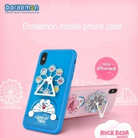 ROCKBEAR Creative Ferris Wheel And Doraemon TPU Back Case For IPHONE X / IPHONE XS MAX Sky Blue/iphone XR