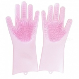 Non-Slip-Magic-Silicone-Rubber-Cleaning-Gloves-(1-Pair)