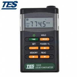 B35A TES-1333 Solar Power Meter, Digital Radiation Detector, Solar Cell Energy Tester As the Picture