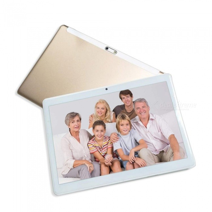 10.1 Inches Quad-Core 3G Tablet PC With 1GB RAM, 16GB ROM Rose Gold