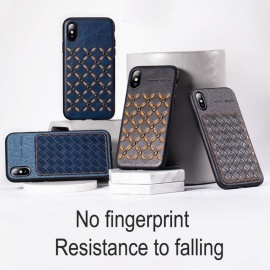 ROCK New Mobile Phone Case Dirt-resistant Anti Drop Fitted Cases For IPhone XR Black/iPhone XS
