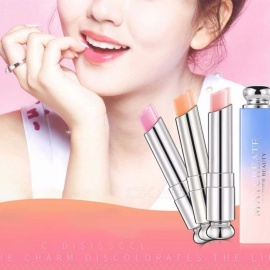 Beauty Bright Crystal Jelly Lipstick, Magic Temperature Change Color Lip Balm, Natural Moisturize Lipstick Orange