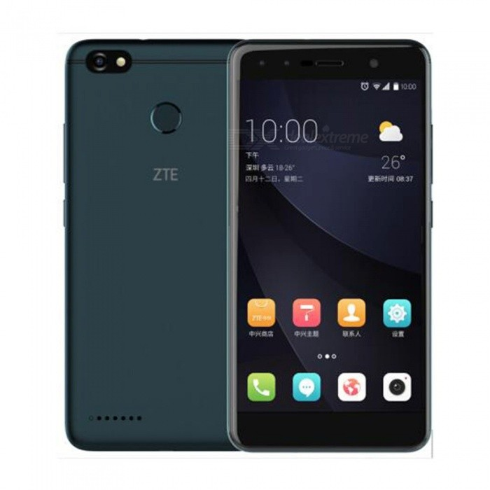 ZTE Blade A3 Android 7.0 4G LTE Quad-Core 5.5 Inches Mobile Phone With 3GB RAM 32GB ROM, 4000mAh Battery, Fingerprint Black