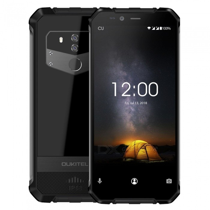 OUKITEL WP1 IP68 Waterproof 4GB 64GB 5000mAh MTK6763 Octa-Core 5.5