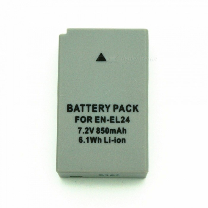 EN-EL24 Full Decoding 850mAh Lithium Battery for Nikon Camera