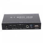 Kebidu 2 in 1 5.1 Channel AC3/DTS 3.5mm Audio Gear, Digital Surround Sound Decoder