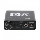 Digital to Analog Audio RCA R / L HiFi Headphone Amplifier, Toslik Coaxial Fiber Optic Converter
