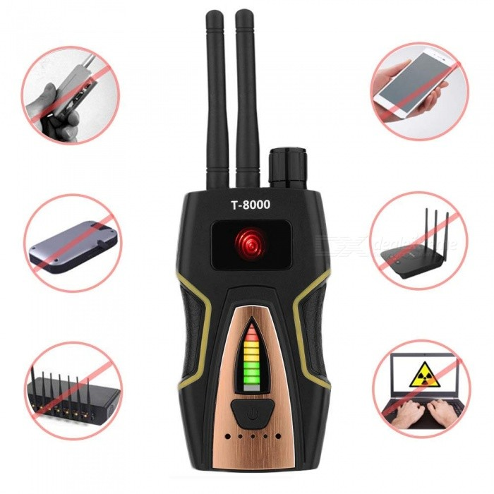 Signal Detector GPS Signal Detector RF Signal Detector for Hidden Camera GSM Listening Device Finder Radio Scanner CDMA