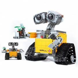 ESAMACT New 687pcs Idea Robot WALL E Legoings Building Blocks Kit Toys For Children Education Gift Compatible Bricks Toy 16003