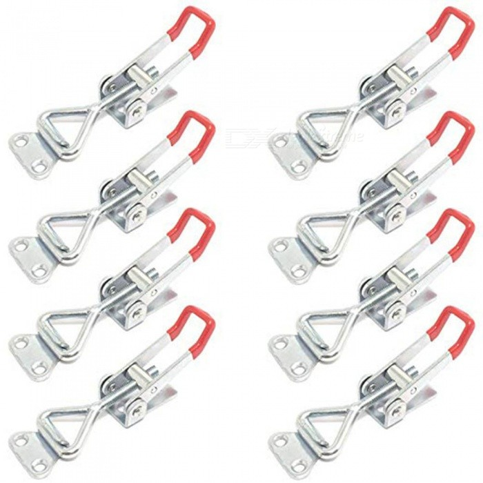 ZHAOYAO-8PCS-Toggle-Clamp-4001-Heavy-Duty-Hand-Tool-Quick-Release-Metal-Holding-Capacity-Latch-Type-220-Lbs