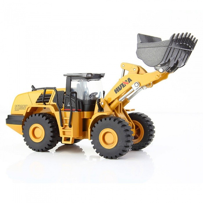 ESAMACT Alloy Mechanical loader Engineering Vehicle Excavator Car Vehicles Model Diecast For Boys Toys Gift Kid Toy