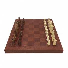 ZHAOYAO-Unique-Leather-Surface-Backgammon-and-Checkers-and-Chess-3-In-1-Storage-Box-Large-Standard-Chess-Sets