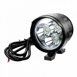 Zhishunjia-12V-3LED-External-Power-Supply-LED-5-Mode-Motorcycle-Headlamp