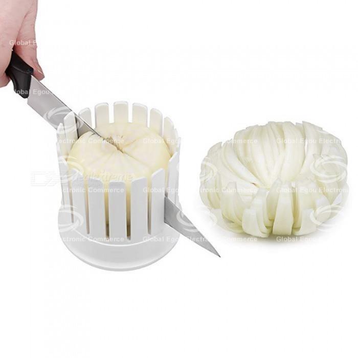 Simple and Convenient Onion Cutter