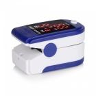 Oximeter RZ-201 English Blue High Quality Portable Durable Safety Fingertip Oximeter