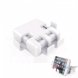 20W 4USB 4A Mobile Phone Charging Station - US Plug