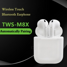 M8X Touch Control In Ear Headphones Earphone Earbuds Games For Iphone 7 Samsung Xiao Mi Wireless Sports