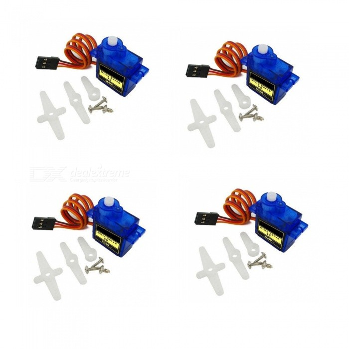 ZHAOYAO SG90 Smart Electronics RC Mini Micro 9g 1.6KG Servo for RC 250 450 Helicopter Airplane Car Boat