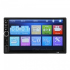 7 inch 1080P Car Stereo MP5 support Rear view camera Bluetooth Double 2 Din MP5