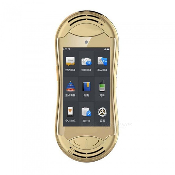 32 Language Two-way Real Time Translation Translator-Gold