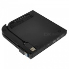 Ultra-slim External USB 3.0 DVD RW CD Writer Drive Burner 24X CD-R Reader Player  For PC Laptop For MAC