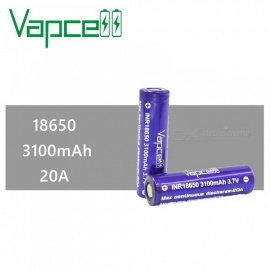 2-PCS-VAPCELL-18650-3100mAh-20A-50A-37V-Rechargeable-High-Capacity-Lithium-Battery-Continuous