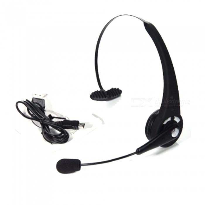 BTH-068 Rechargeable Wireless Over-the-head Bluetooth Headset with Microphone, Featuring Noise Reduction / Multi-Point / 8 Hours