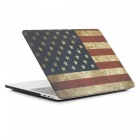 "Dayspirit 3 in 1 Printing Case + Keyboard Cover + Anti-dust Plugs for MacBook Pro 13.3"" 2016 (A1706/A1708)- American flag"