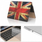 "Dayspirit 3 in 1 Printing Case + Keyboard Cover + Anti-dust Plugs for MacBook 12"" (A1534) - British Flag"
