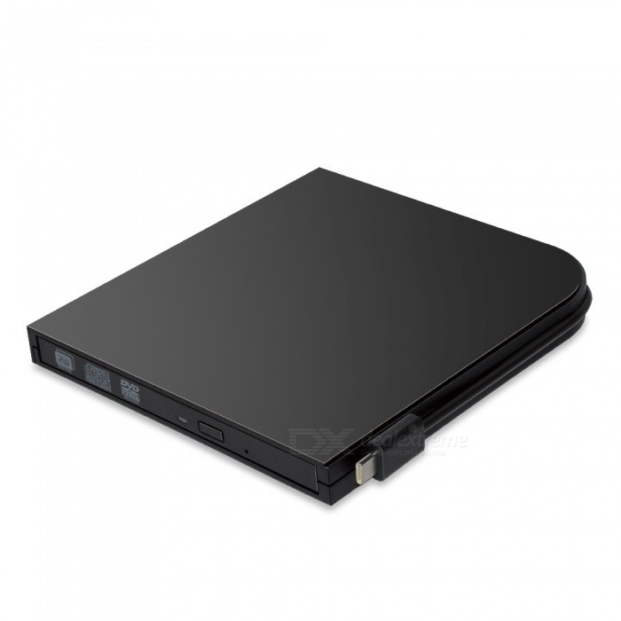 Buy USB 3.0 Type C External DVD CD RW DVD Burner Writer Optical Drive For Laptop Netbook Notebook PC Black with Litecoins with Free Shipping on Gipsybee.com