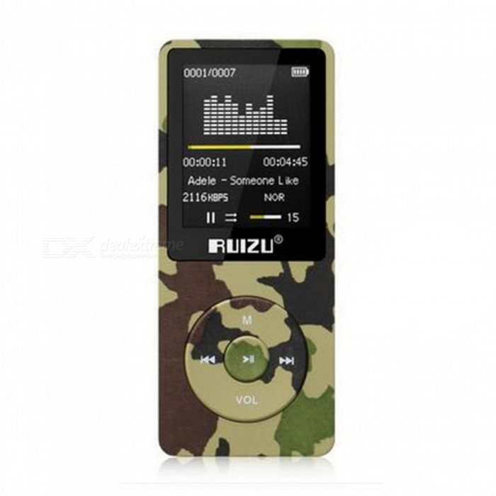 ZHAOYAO Phh Original English Version Ultrathin MP3 Player With 8GB Storage And 1.8 Inch Screen Can Play 80h