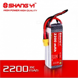 SHANGYI  1PCS 22.2V 2200mAh 35C 803496 Battery High Power Quality Lithium Battery for RC Toy Car Airplane Spare Parts